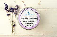 Drogéria - Krémový dezodorant levanduľa a cajeput (45g/30ml) - 6442005_