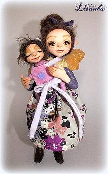 Bábiky - ♥ Matka a dieťa ♥ - 6443562_