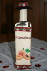 Fľaša-marhuľovica