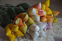 Dekorácie - Tulipán žltý mix - 6443167_