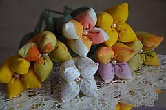 Dekorácie - Tulipán žltý mix - 6443169_