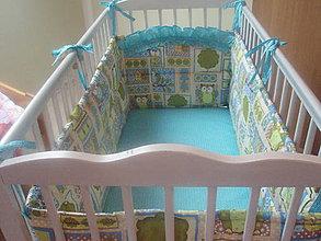 Textil - Hniezdo do detskej postieľky - 6441140_