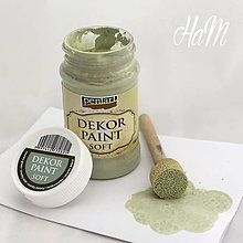 Farby-laky - Dekor Paint Soft 100ml - country zelená - 6441907_