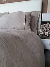 Úžitkový textil - Ľanové posteľné obliečky Fresh Nature (Set č.1: 140x200, 70x90 cm, biela) - 6441368_