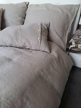 Úžitkový textil - Ľanové posteľné obliečky Fresh Nature (Set č.1: 140x200, 70x90 cm, biela) - 6441369_