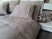 Úžitkový textil - Ľanové posteľné obliečky Fresh Nature (Set č.1: 140x200, 70x90 cm, biela) - 6441370_