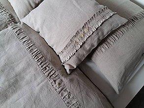 Úžitkový textil - Ľanové posteľné obliečky Nature Dream - 6441314_