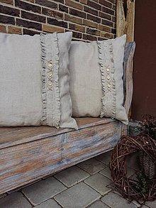 Úžitkový textil - Ľanová obliečka Nature Dream - 6441399_