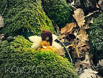 Dekorácie - Malá zemitá víla... - 6448543_