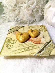 "Prstene - Podnos na obrucky ""Nasa slavnostna zlata"" - 6448525_"