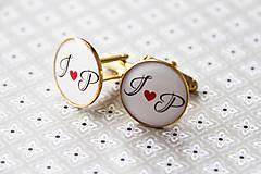 Šperky - Manžetové gombičky - 6447492_