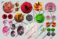 Materiál ručne robený - Motívy na šperky č.45- akcia 4+1 na všetky motívy - 6445503_