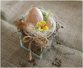 Dekorácie - Vajíčko v skle - 6449029_