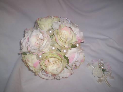 Svadobná kytica Romantická....