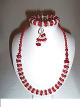 Sady šperkov - koral kryštál súprava - 6445210_