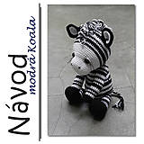 Návody a literatúra - Háčkovaná zebra Matty - návod - 6445900_