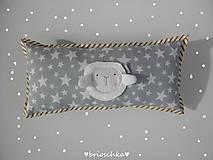 Textil - vankúšik válčekovitý - 6446081_