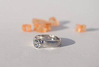 Prstene - Snubný prstienok - 6449513_
