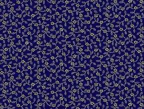 Textil - Látka modrotlač - 6452106_