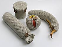 Úžitkový textil - Sada obalov na bio desiatu - 6452703_