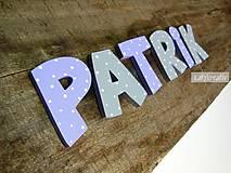 Tabuľky - drevené písmenká....Nicolas na želanie - 6451520_