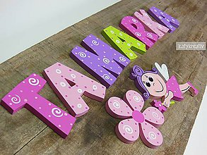 Tabuľky - drevené písmenká - 6451594_