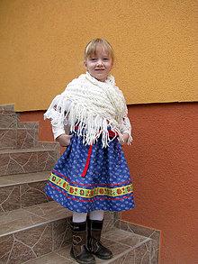 Detské oblečenie - Folklórna suknička - 6452641_