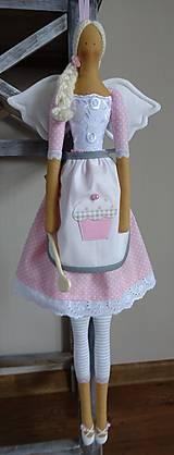Bábiky - Anjelka do kuchyne - 6449942_