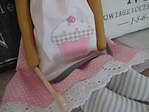 Bábiky - Anjelka do kuchyne - 6449951_