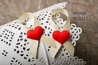 Pierka - svadobné pierko red - 6449579_