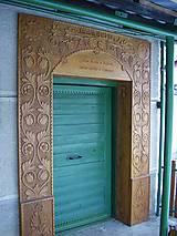 Nábytok - Drevené obloženie dverí - 6451075_