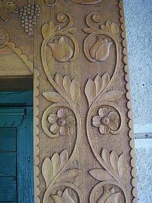 Nábytok - Drevené obloženie dverí - 6451074_
