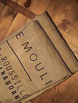 Úžitkový textil - ľanové utierky sivé, set 2 ks - 6452345_