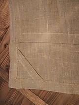 Úžitkový textil - ľanové utierky sivé, set 2 ks - 6452347_