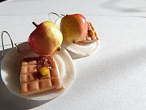 Náušnice - Zdravé raňajky - 6450400_