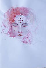 Drogéria - Ľúbava, PríRODné mydlo s lupienkami ruže, ružovým a bielym ílom, jemne pílingové - 6449962_