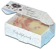 Drogéria - Ľúbava, PríRODné mydlo s lupienkami ruže, ružovým a bielym ílom, jemne pílingové - 6452770_