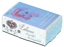 Drogéria - Ľúbava, PríRODné mydlo s lupienkami ruže, ružovým a bielym ílom, jemne pílingové - 6452771_