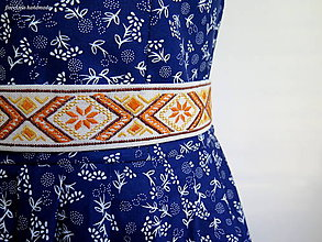 Opasky - folk opasok s výšivkou - 6451827_