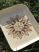 Nádoby - Svargový čarokruh 1. - drevená tácka - 6452249_