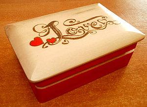 Krabičky - Šperkovnica - Love - 6452257_