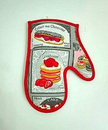 Úžitkový textil - chňapka tortička - 6457737_