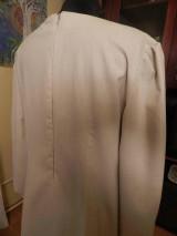Šaty - štetcom vyšívané - béžové - 6453944_