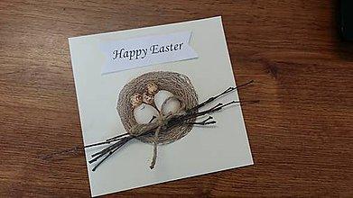 Papiernictvo - Veľkonočné hniezdo - 6455524_