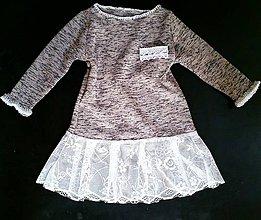 Detské oblečenie - Jarné šaty-tunika - 6454871_