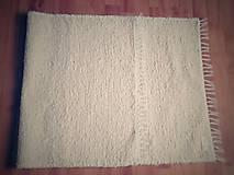 Úžitkový textil - Koberček maslový - 6454439_