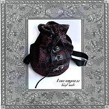 Veľké tašky - Gothická taška - vrece - 6453793_