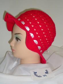 Detské čiapky - Háčkovaný klobúk - 6458304_