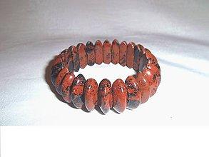 Náramky - jaspis moka náramok - 6456309_