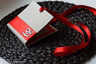 Darčeky pre svadobčanov - Obálka na peniaze - 6456669_